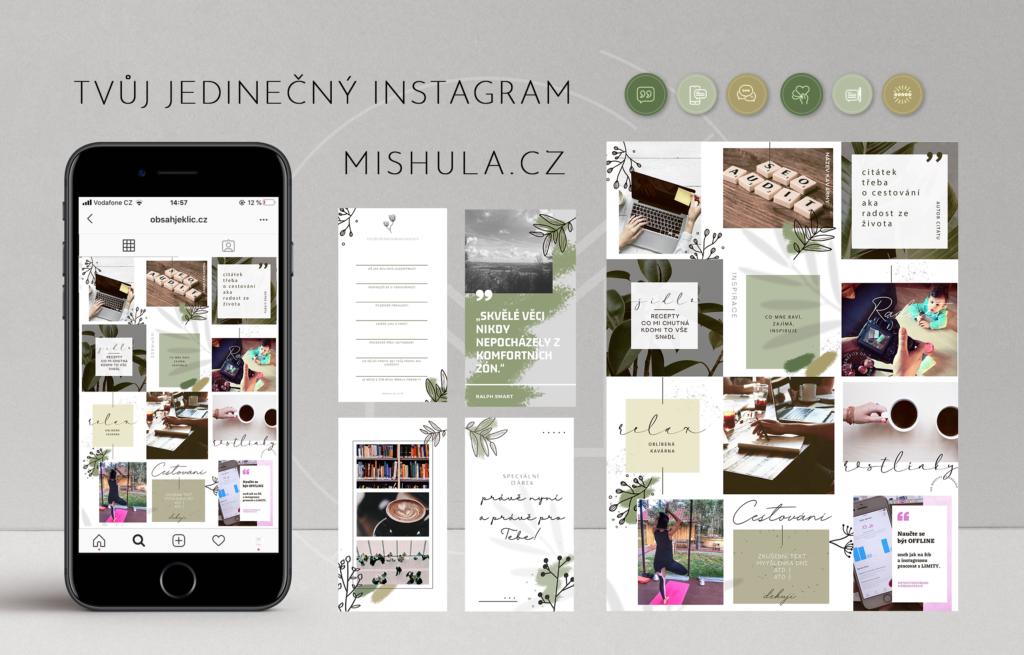 instagram prezentace